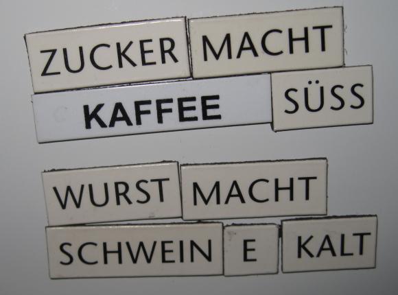 Kühlschrankpoesie : Kühlschrankpoesie shakespeare magnete magnetic poetry kit in
