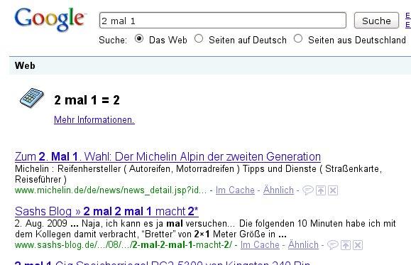 Au ja, gib mir mehr Infos zu dieser spannenden Aufgabe! Screenshot: google.de