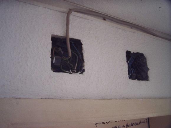 Über meinem alten Zimmer im Flur, Quelle: Sash