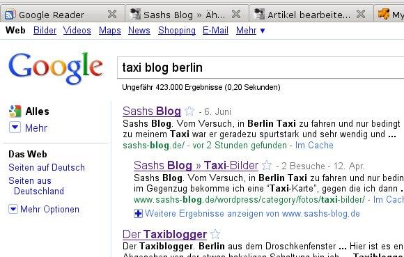 Olé oléoléolé! Screenshot: google.de