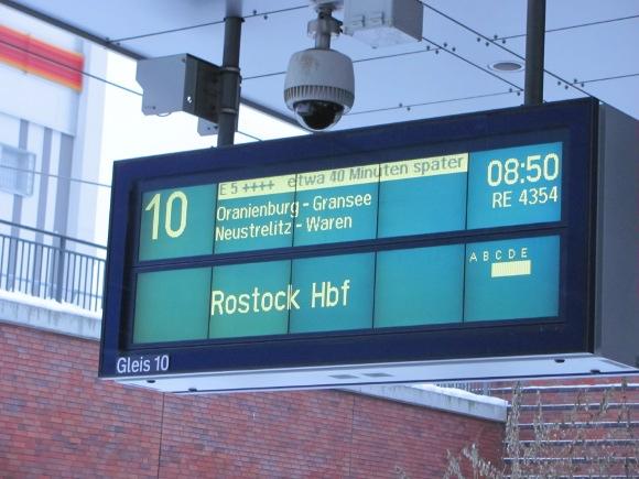 Handelsübliche Bahnverspätung, Quelle: Sash