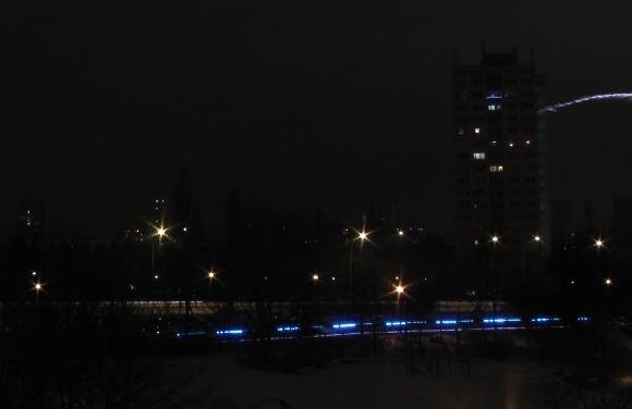 Blaulicht um Mitternacht, Quelle: Sash